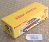 Dinky #165 Humber Hawk Saloon - Reproduction Box ( 2-tone, Green and Black )